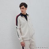 【GIORDANO】男裝G-MOTION撞色拼接運動外套-81 花紗月巖淺花灰