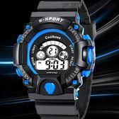 【618好康又一發】兒童電子錶學生運動戶外防水夜光
