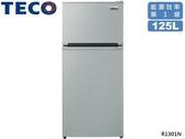 ↙0利率↙TECO 東元 125公升 1級能效 環保冷媒 定頻雙門冰箱 R1301N【南霸天電器百貨】