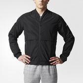 Adidas ID JKT WV 男 黑 白 梭織立領夾克 薄款 愛迪達 風衣 外套 棒球夾克 CD2593