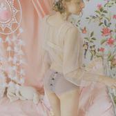 超薄蕾絲內褲女性感透明火辣低腰鏤空少女生純棉襠女士三角褲日系  韓風物語