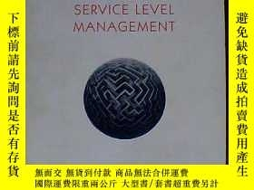 二手書博民逛書店foundations罕見of service lecel management 的層次管理基礎Y22680