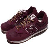 【五折特賣】New Balance 574 系列 復古慢跑鞋 酒紅 紫 男鞋 運動鞋 【PUMP306】 ML574HRAD