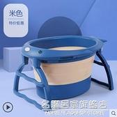 摺疊浴桶嬰兒洗澡盆兒童洗澡桶寶寶泡澡桶小孩游泳桶家用浴盆加厚 NMS名購新品