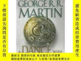二手書博民逛書店A罕見Dance with Dragons:A Song of Ice and FireY449926 Geo