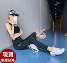 依芝鎂-B439運動褲梁流後造型長褲路跑健身褲子正品,單褲售價499元