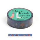 Shinzi Katoh 加藤真治 和紙膠帶15mm 闇夜小紅帽_ZI02884