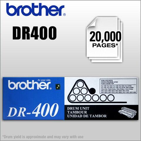 BROTHER DR-400(DR-6000)原廠感光滾筒~適用機型:FAX-4100,FAX-4100e.FAX-4750,FAX-4750e