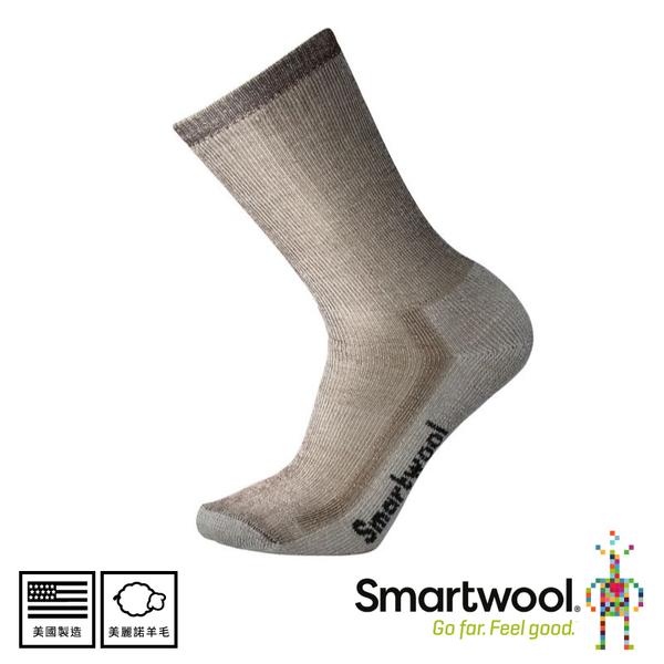 【SmartWool 美國 男 中級減震型徒步中長襪《灰褐》】SW0SW130/排汗襪/戶外襪/機能襪/健行/美麗諾羊毛