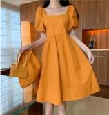 大碼洋裝 夏季寬松遮肚子連身裙女胖妹妹減齡藏肉超仙中長裙 芊墨左岸