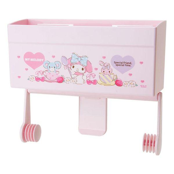 Sanrio 美樂蒂可磁吸式廚房紙巾架(甜蜜午茶)★funbox★ 607410