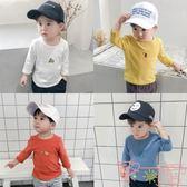寶寶t恤男長袖小童上衣嬰兒打底衫兒童衣服【聚可愛】