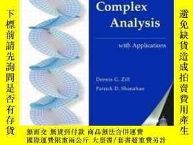 二手書博民逛書店【罕見】A First Course In Complex Analysis With Applications奇