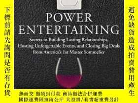 二手書博民逛書店Power罕見Entertaining: Secrets to Building Lasting Relation