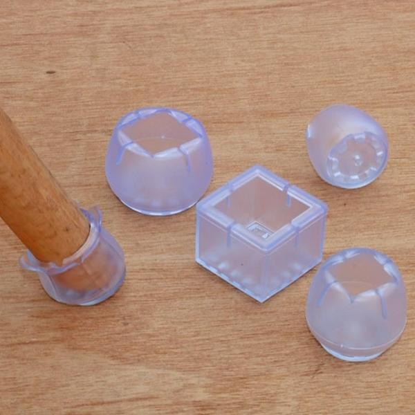 桌腳墊 椅子腿保護套硅膠桌腳墊家具地板靜音耐磨防滑腳套加厚凳子桌角墊 一木良品