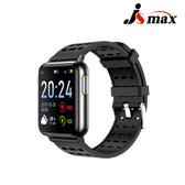 JSmax SW-V5 AI人工智能健康管理手錶(即時動態監測)黑色+黑錶帶