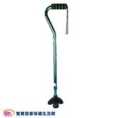 富士康 鋁合金時尚休閒不倒拐 拐杖 助行器-FZK-2204 綠色