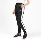 PUMA 流行系列CLASSICS T7長褲(F)正品 黑白 59521001【iSport愛運動】