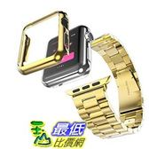 [104美國直購] Ultra Slim 42mm Stainless Steel Grand Series for Apple Watch (Gold) 手錶 錶帶