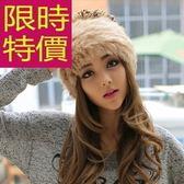 毛帽-羊毛流行針織韓風溫暖女帽子6色63w20[巴黎精品]