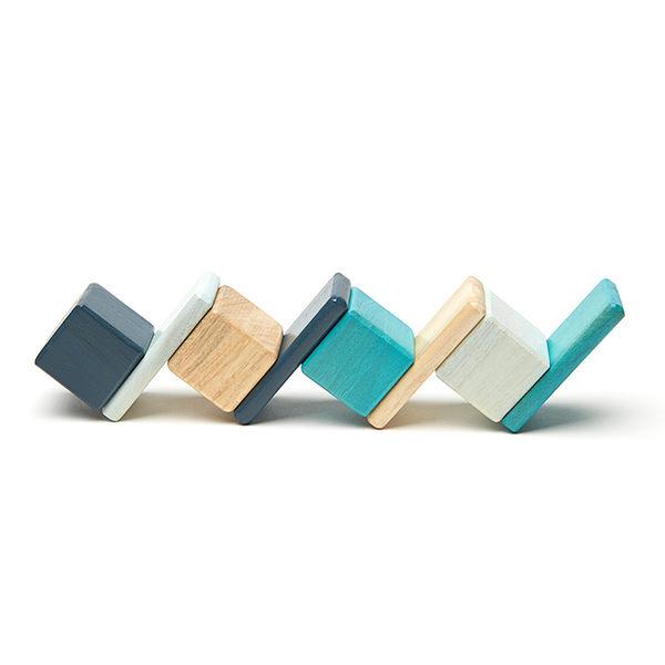 【one more】美國代購 正品 美國tegu安全無毒磁性積木 經典口袋組 現貨藍色款 兒童節禮物