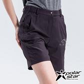 PolarStar 女 抗UV排汗彈性短褲『灰藍』P18310 西裝褲│休閒褲│吸濕排汗│直筒褲│運動褲