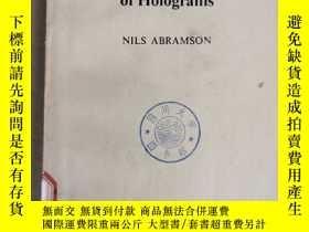 二手書博民逛書店the罕見making and evaluation of holograms(P1182)Y173412