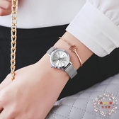 流行女錶女士手錶女款時尚潮流小巧鋼帶簡約女錶學生正韓防水石英錶 JY【限時八折】