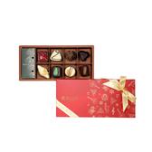 【Diva Life】音樂聖誕夾心禮盒8入(比利時手工夾心巧克力)