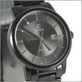 【萬年鐘錶】 日系SIGMA 經典全黑女錶 1122L-B