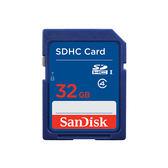 【EC數位】SanDisk SDHC 32GB 記憶卡 Class 4 公司貨