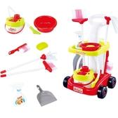 玩具 兒童掃把拖地套裝迷你清潔手推車寶寶過家家廚房女孩玩具組合六一