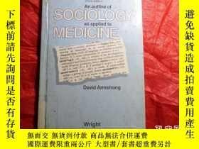 二手書博民逛書店An罕見Outline of Sociology as Appl
