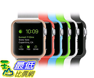 [105美國直購] 蘋果錶殼 6 ColorPack Apple Watch Case Fintie Lightweight Premium Polycarbonate AAWA001US