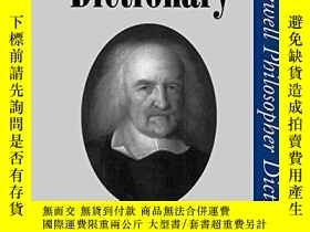 二手書博民逛書店A罕見Hobbes DictionaryY256260 Martinich, Al P. Lightning