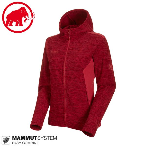 【MAMMUT 女 Yadkin Hooded 連帽外套《速克達》】1014-01310/中層運動夾克/彈性透氣保暖