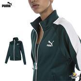 Puma 女 綠色 長袖 外套 運動 長袖 路跑 運動外套 休閒 慢跑 健身 瑜珈 外套 57820530