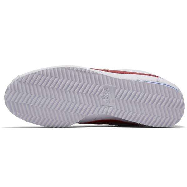 【現貨】NIKE CLASSIC CORTEZ LEATHER 男鞋 女鞋 休閒 阿甘 皮革 經典 白紅藍【運動世界】807471-103