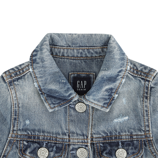 Gap女幼帥氣風格上衣540821-石磨洗