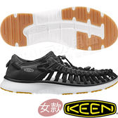 KEEN 1017055 黑Uneek O2 女專業戶外護趾涼鞋 水陸兩用鞋