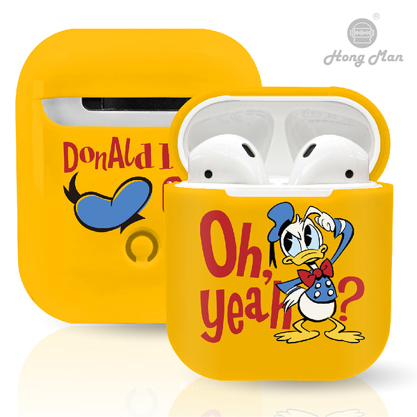 迪士尼正版授權 AirPods硬式保護套 唐老鴨