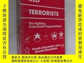 二手書博民逛書店英文原版罕見Europe s Red Terrorists b
