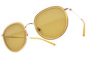 CARIN 太陽眼鏡 ERIN C3 (金-黃-棕鏡片) 韓星秀智代言 經典潮流圓框款 # 金橘眼鏡