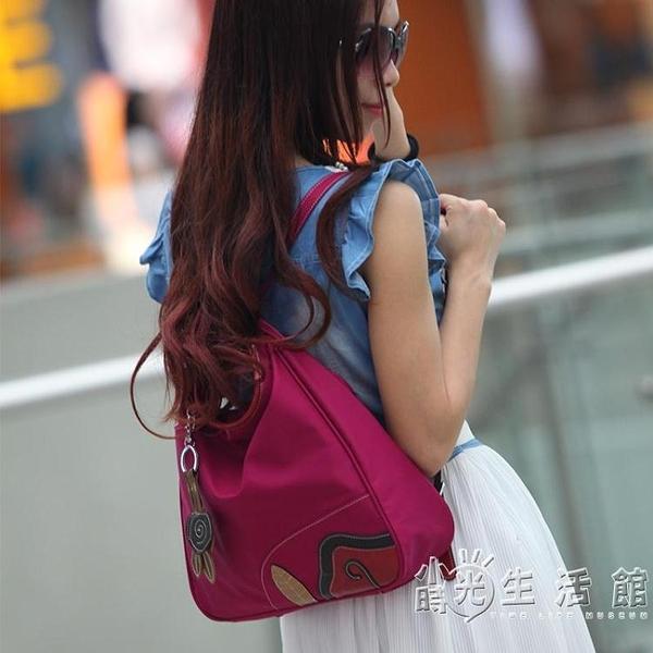 個性防潑水后背包雙肩包女韓版百搭多功能休閒旅行媽媽包街頭 小時光生活館