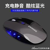 滑鼠無線滑鼠可充電靜音台式筆記本電腦蘋果小米聯想通用辦公家用滑 快速出貨