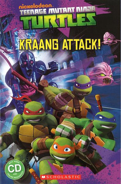 POPCORN READERS : TEENAGE MUTANT NINJA TURTLES: KRAANG ATTACK! L2/書+CD