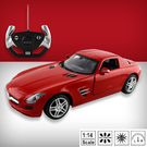 【瑪琍歐玩具】1:14 Mercedes Benz SLS AMG R/C 遙控車/47600
