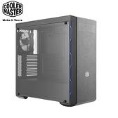 """酷碼 MasterBox MB600L 藍邊 顯卡長40/CPU高16/支援5.25""""/壓克力透側/ATX 機殼"""