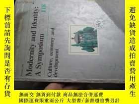 二手書博民逛書店b0043modernity罕見and identity:a s
