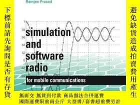 二手書博民逛書店Simulation罕見And Software Radio For Mobile Communications奇